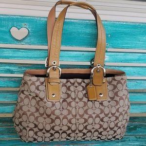 Coach Signature Handbag Style K0893-F13118
